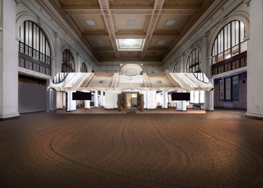 Doug Aitken, The State Savings Bank