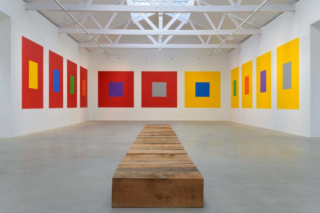 Sol LeWitt-Carl Andre-Monumental Minimal-Galerie Thaddaeus Ropac-Paris Pantin