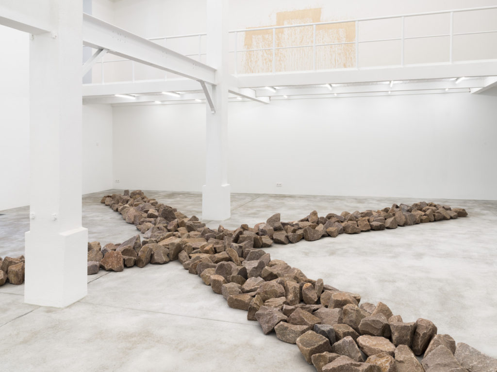 Richard Long-Granite Crossing-Konrad Fischer Galerie
