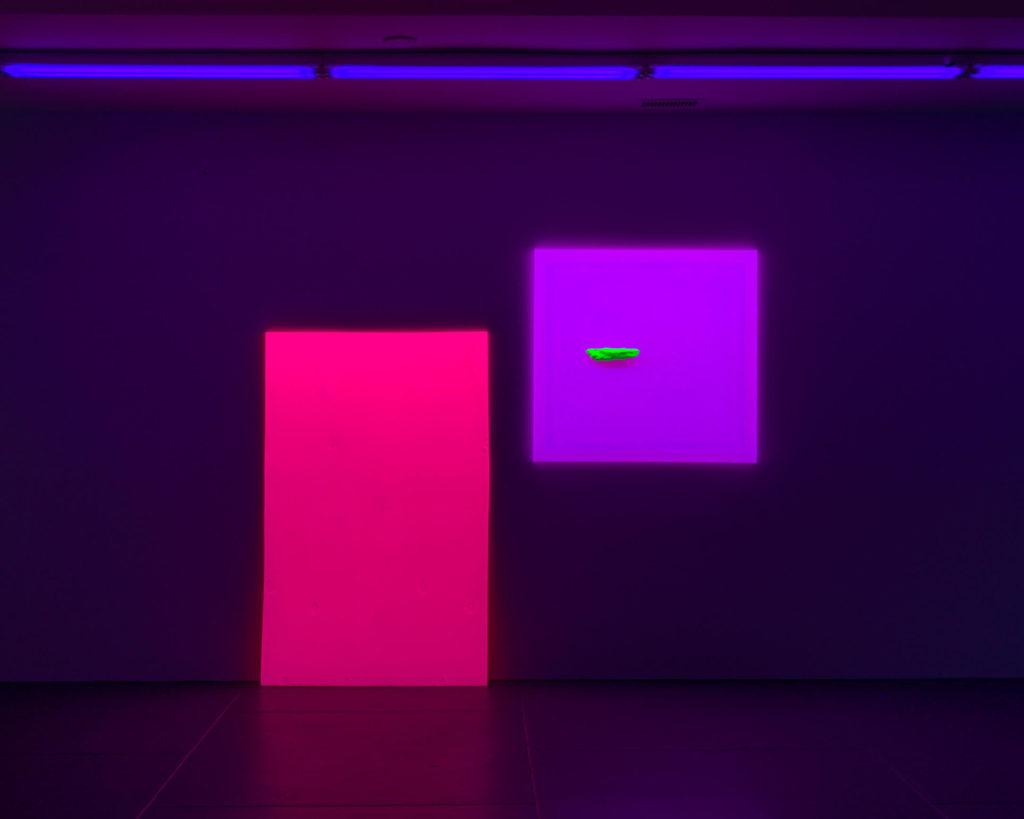 Jacqueline Humphries-The Dan Flavin Art Institute-Bridgehampton