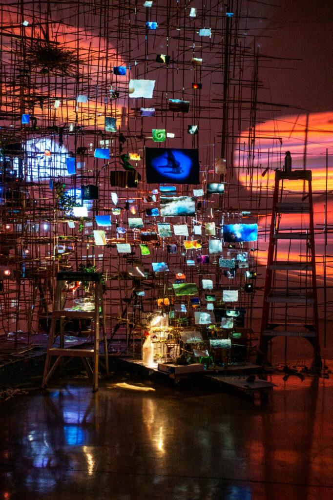 Sarah Sze-Tanya Bonakdar Gallery