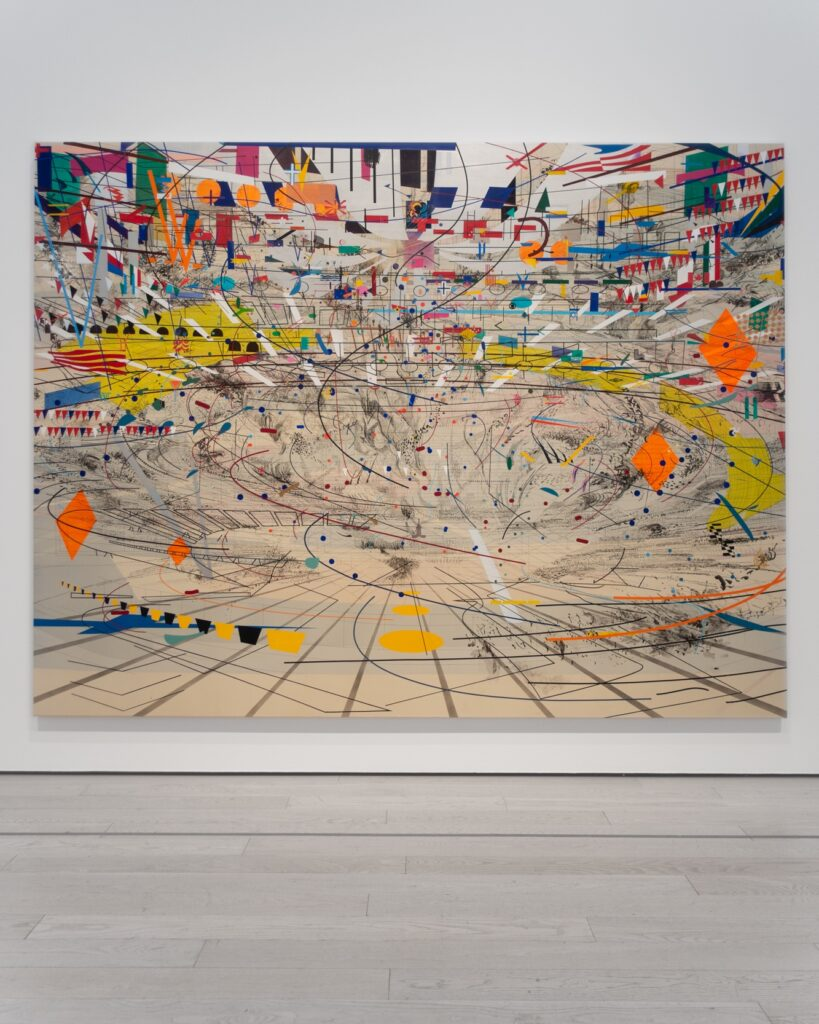 Julie Mehretu, Los Angeles County Museum of Art