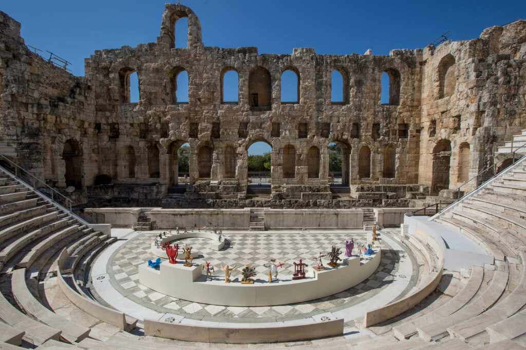 Dionisis Kavallieratos-Neon-Festival-Odeon of Herodes Atticus-Athens