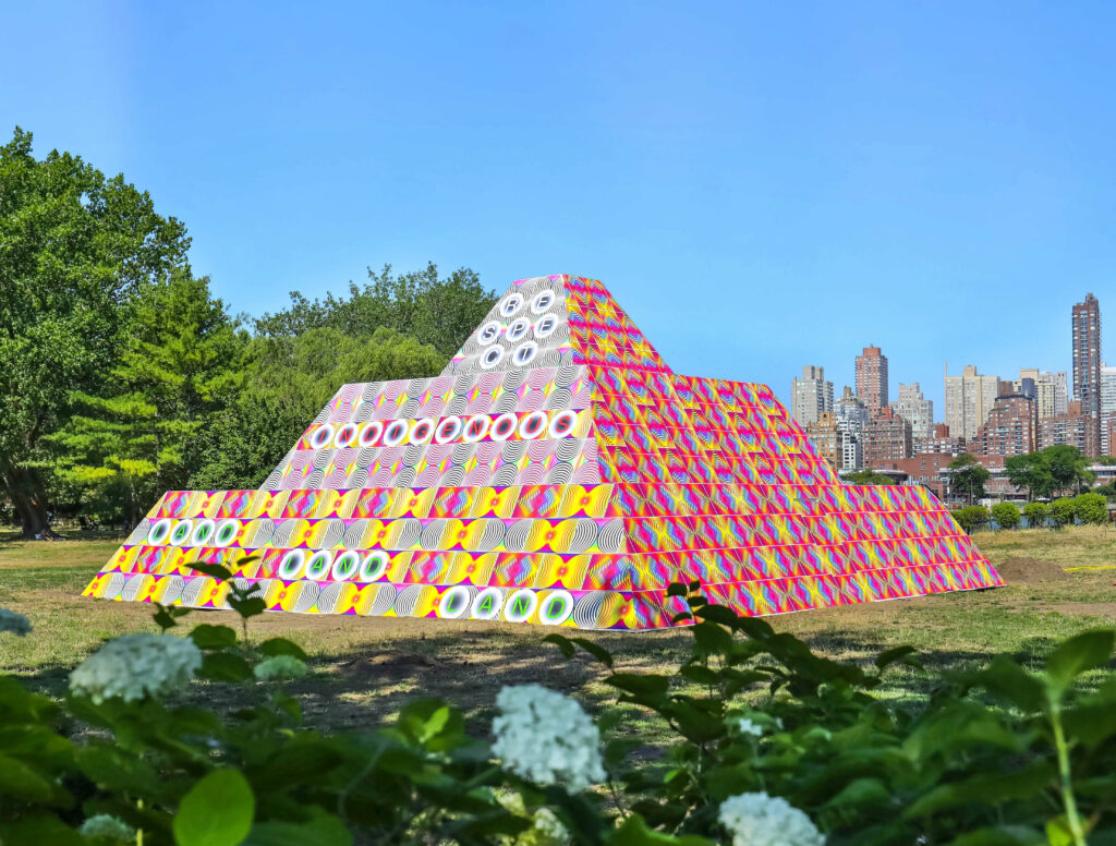 Jeffrey Gibson-Monuments Now-Socrates Sculpture Park