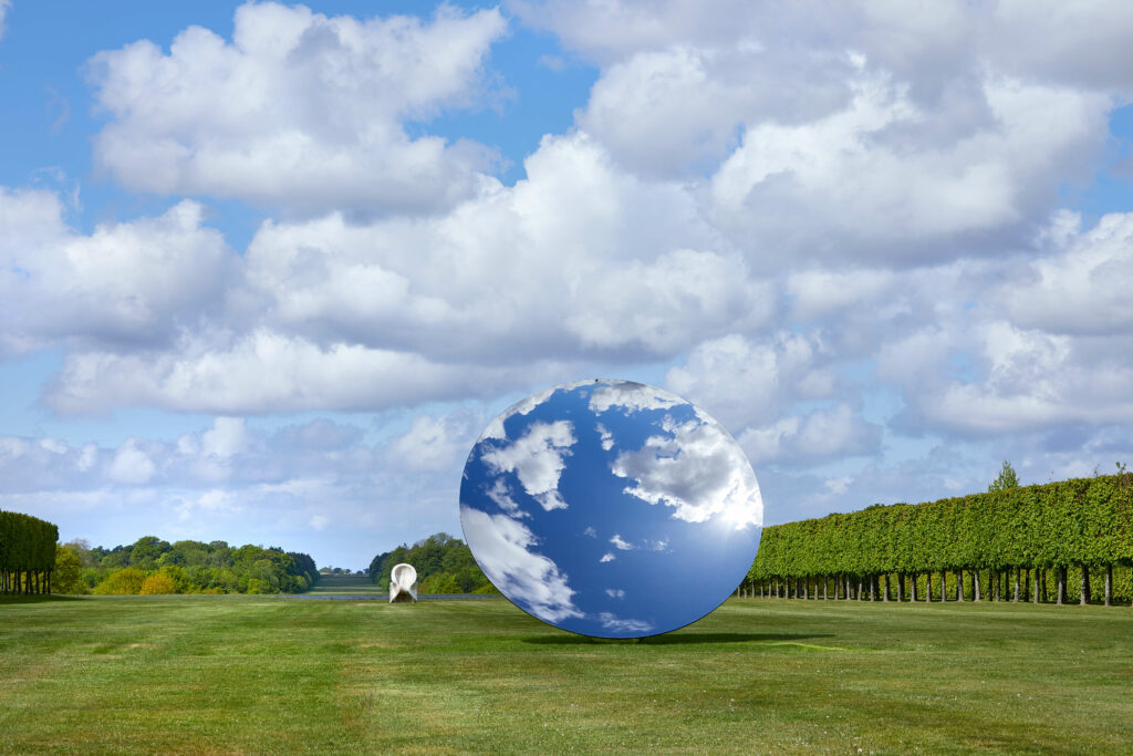 Anish Kapoor-Sky Mirror-Houghton Hall